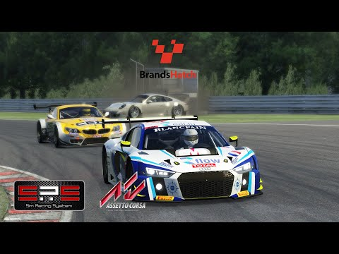 Assetto Corsa | Don't start at mid pack! ヽ(*´∀`)ノ SRS R8 LMS 2016@Brands Hatch |