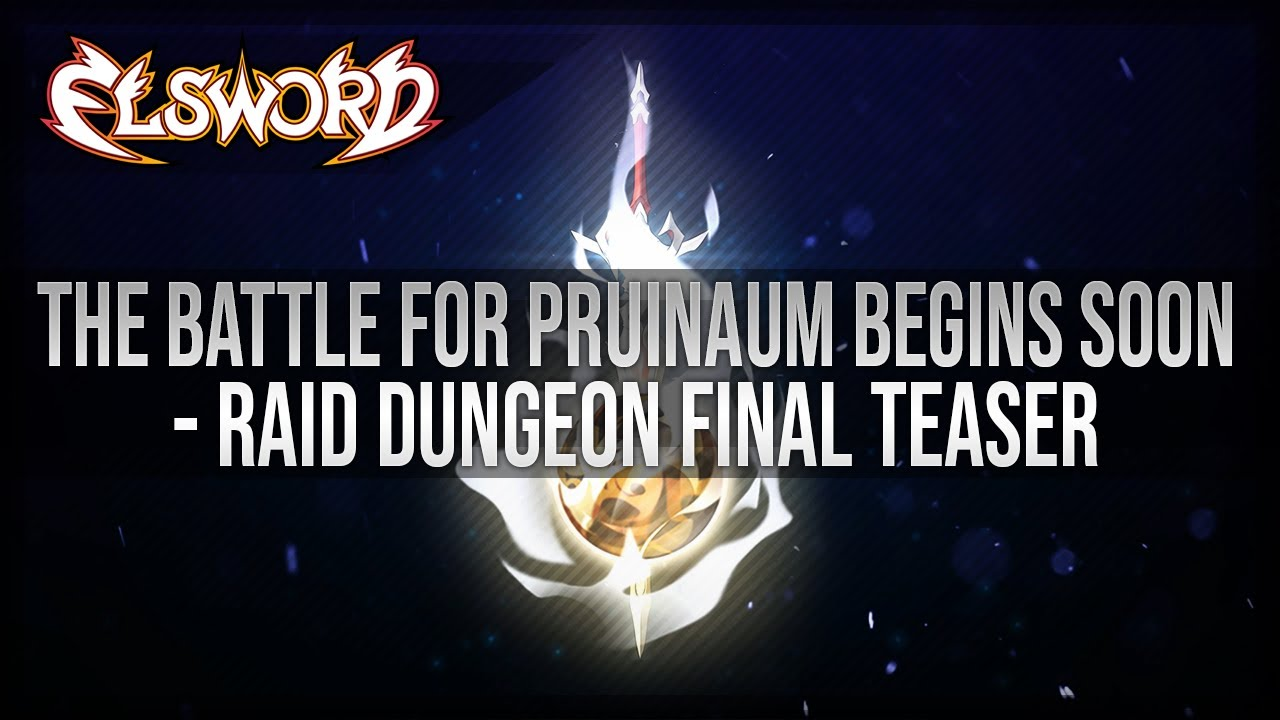 Elsword Official - The Battle for Pruinaum Begins Soon!