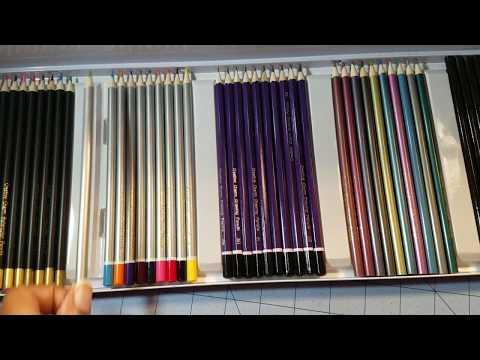 Creative Charm Coloring Pencils Demo/Review kinda