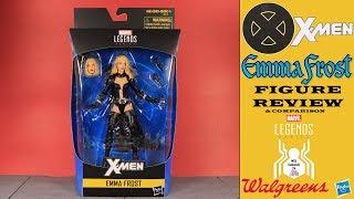Marvel Legends EMMA FROST X-Men Walgreens Exlcusive Figure Review