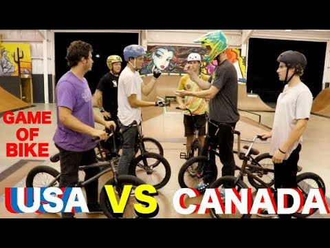 Game Of Team BIKE: USA Vs. CANADA!