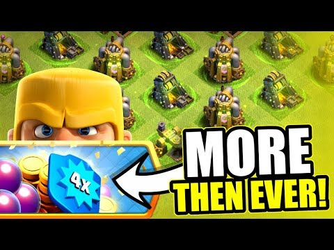 MORE LOOT THEN WE HAVE EVER HAD!! - Clash Of Clans - NEW EVENTS LIVE!