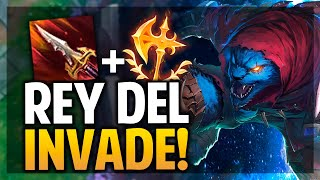 ¡HAGO INVADE Y PIDEN REPORT! RENGAR CONQUISTADOR! | League of Legends