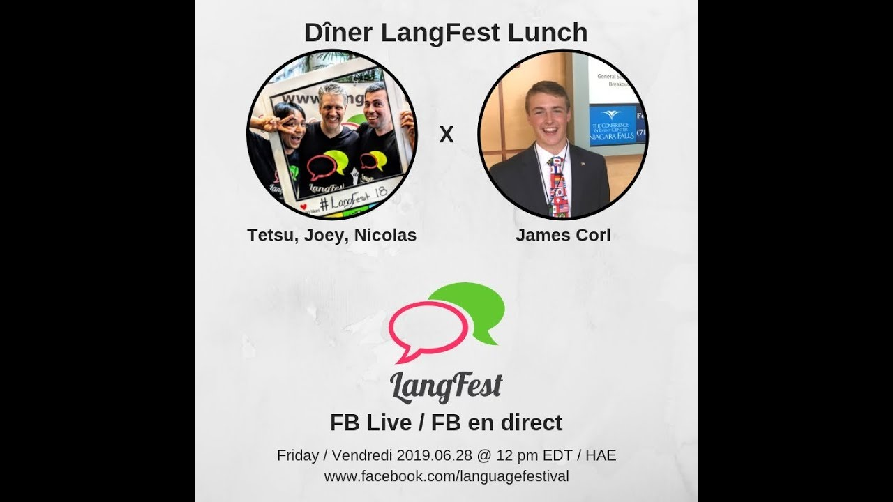 LangFest Lunch: James Corl