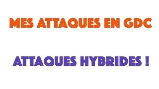 J'utilise des composition d'attaques Hybrides ! #2 Mes attaques en gdc / Clash of Clans Fr