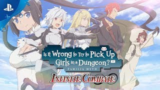 Is It Wrong to Try to Pick Up Girls in a Dungeon? | Trailer | PS4
