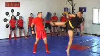 """Club """"WU QUAN LI"""" Craiova, antrenor Silviu Obeanu, stil de lupta:XANDA SANSHOU"""