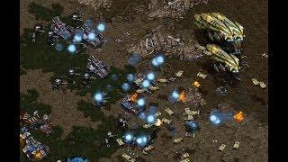 Strelok (T) v Whitera (P) on Heartbreak Ridge - StarCraft  - Brood War REMASTERED