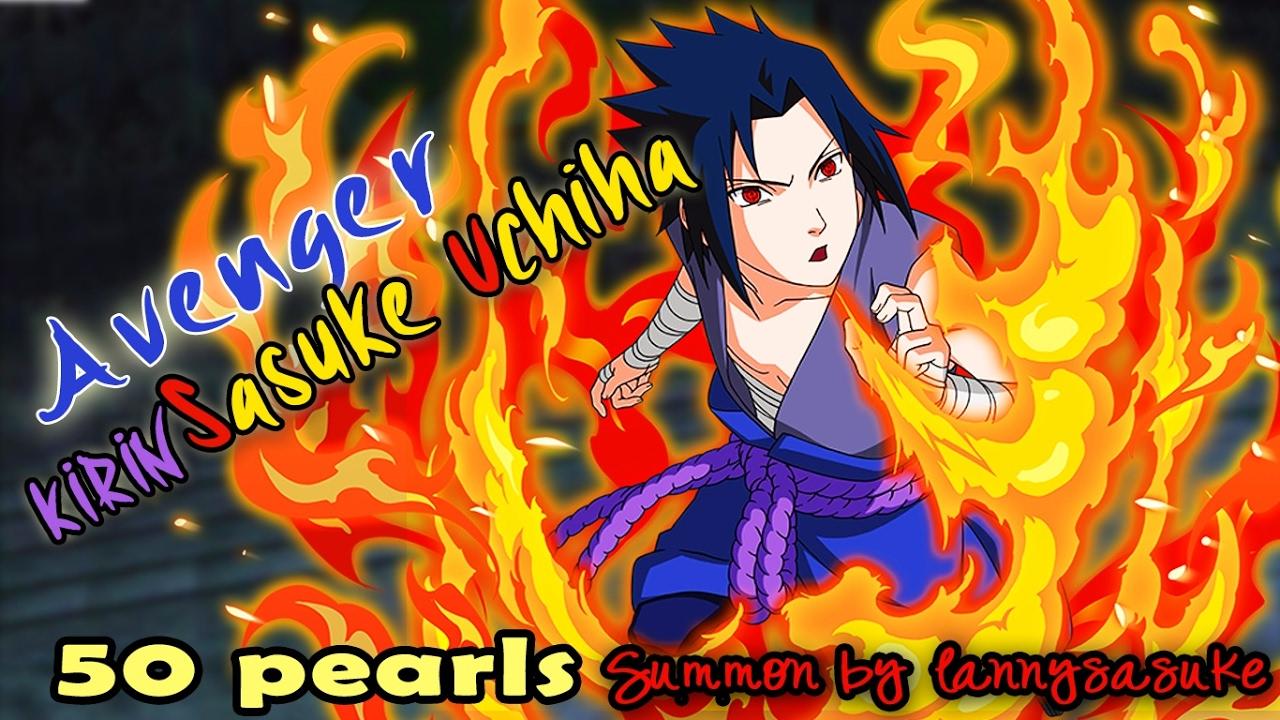 40 + 5 pearls (Summon) Kirin Sasuke - Naruto Shippuden Ultimate Ninja Blazing - YouTube