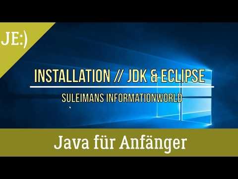 Java & Eclipse - Richtig Installieren