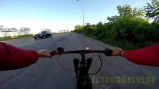 перегон электровелосипеда 80 кмч