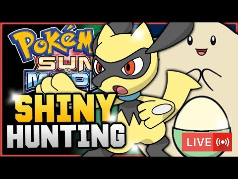 Pokémon Sun & Moon LIVE Shiny Hunting! Hunting For Shiny Riolu And Chansey! w/ HDvee