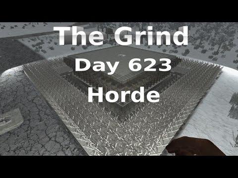 7 Days to Die - Horde Grinder - Day 623 Horde Attack
