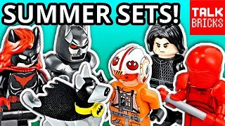 LEGO STAR WARS & LEGO BATMAN Summer 2018 Set Pictures! App-Controlled Batmobile! Snoke's Throne Room