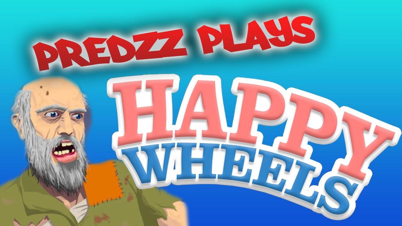 Predzz Plays Happy Wheels Omg Temple Run Youtube