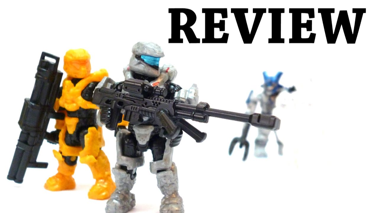 Halo Mega Bloks - Spartan Assault Battle Pack Review