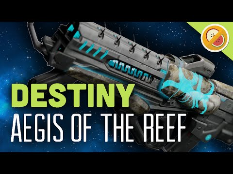 DESTINY Aegis of the Reef Legendary Pulse Rifle Review (Fallen Prison of Elders Weapon)
