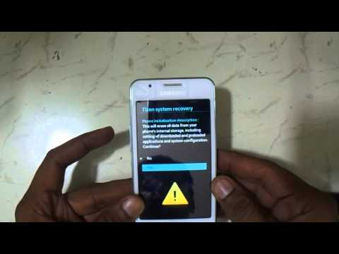 Hard Reset And Reset Lock Samsung Z1 SM Z130H Eazy Youtube