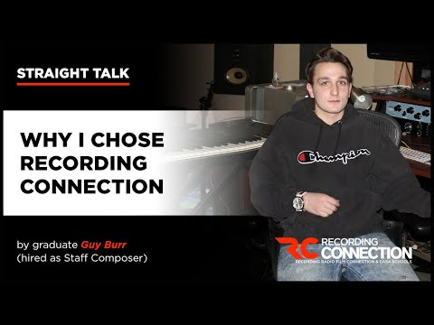 Graduate Tells Why He Chose Recording Connection