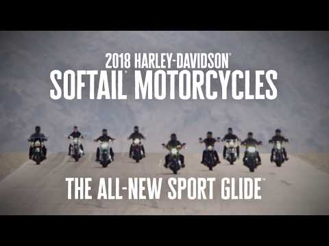 The All-New 2018 Sport Glide | Harley-Davidson