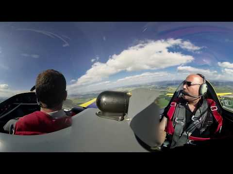 Voltige Day 1 Aerobatics France EXTRA 200 360° 3K 3D VR