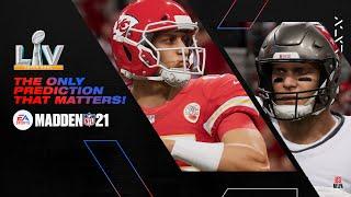 Madden 21 | Super Bowl LV Prediction (feat. The Spokesplayer)