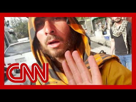 Taliban fighters accost CNN reporter and crew