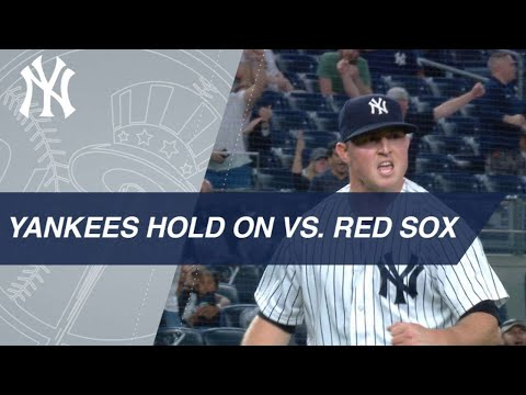 Walker hits big home run, Yankees hold on to beat Sox