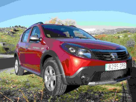 dacia sandero stepway 1 5 dci prueba. Black Bedroom Furniture Sets. Home Design Ideas