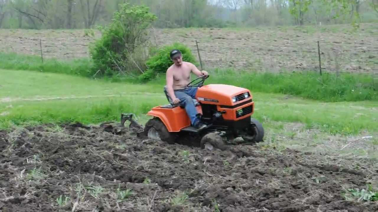 S 16H Plowing the Garden YouTube