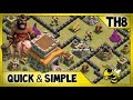 TH8 War Guide - Attacking & Defending | Town Hall 8 War Essentials