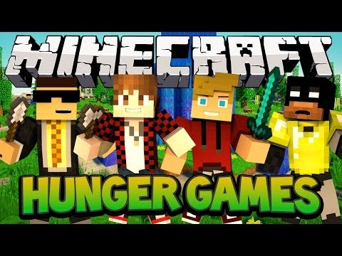 Minecraft Nexus Hunger Games  Power Move City wMitch, Ryan and Bodil