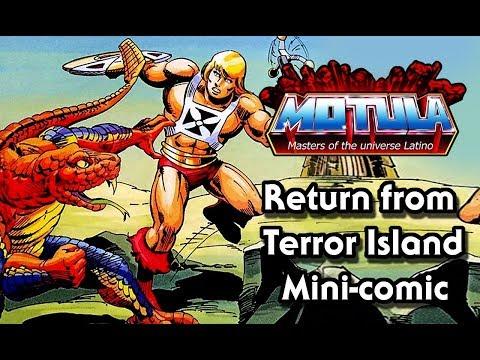 Return from Terror Island el mini comic perdido