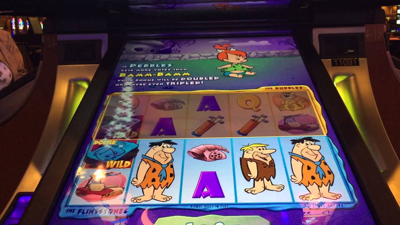 flintstones slot machine locator