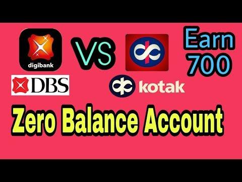 DBS bank vs Kotak 811 ll Earn 700