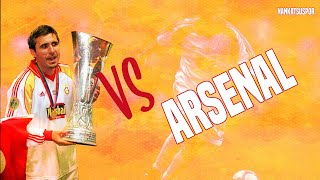 Gheorghe Hagi vs Arsenal