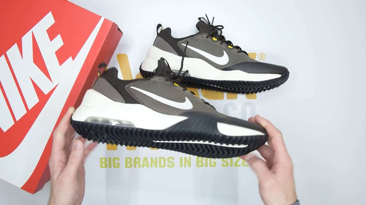 Series de tiempo Repegar Entre  Nike Air Max Grigora - Ridgerock White - Unboxing | Walktall - YouTube
