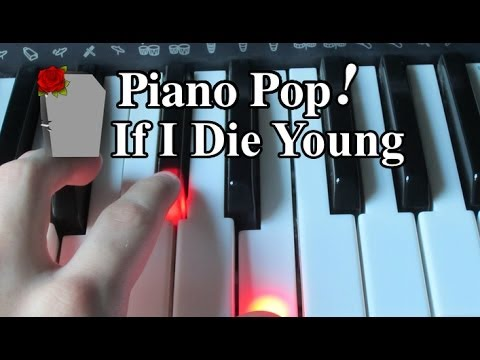 If I Die Young Piano Lesson - The Band Perry - Easy Piano Tutorial