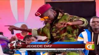 Jegede Day on the show  #10Over10
