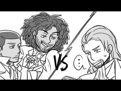 Cabinet Battle #1 | Hamilton Animatic