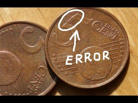 5 Euro Cent 2001 And 2002 ERROR Finland