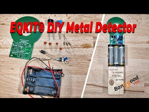 How to assemble Metal detector DIY