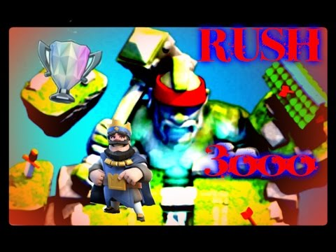 Rush 3000 Trophées!!
