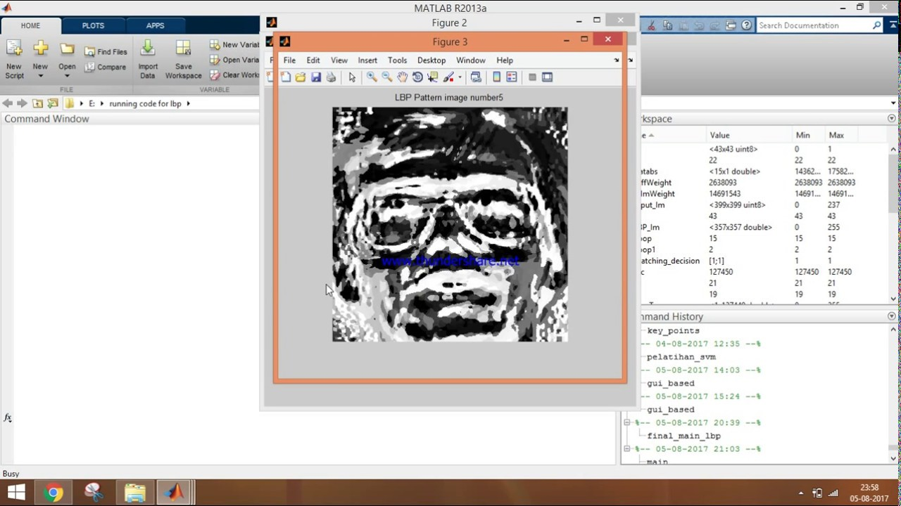 Face Recognition using Local Binary Pattern (LBP) in Matlab - Part 64