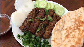 Juicy Kabobs Cooked Indoor - No Grill Needed - Seekh Kabab - Malai Seekh Kabab - Kofta Kabab - Kafta