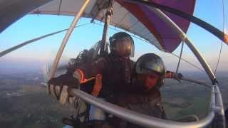 Обучение полетам на дельталете.