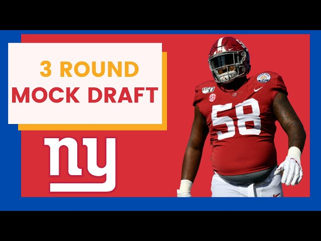New York Giants Add Dominate Defensive Lineman In Latest Mock Draft