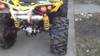 Repeat youtube video Renegade 1000 Ron Woods exhaust