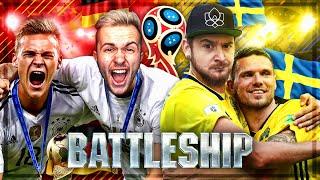 FIFA 18: Deutschland VS. Schweden BATTLESHIP WAGER