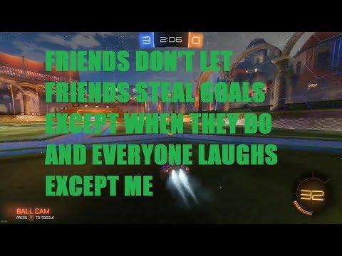 Goal Secured   Rocket League w/ Friends